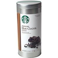 starbucks hot cocoa mix in tin