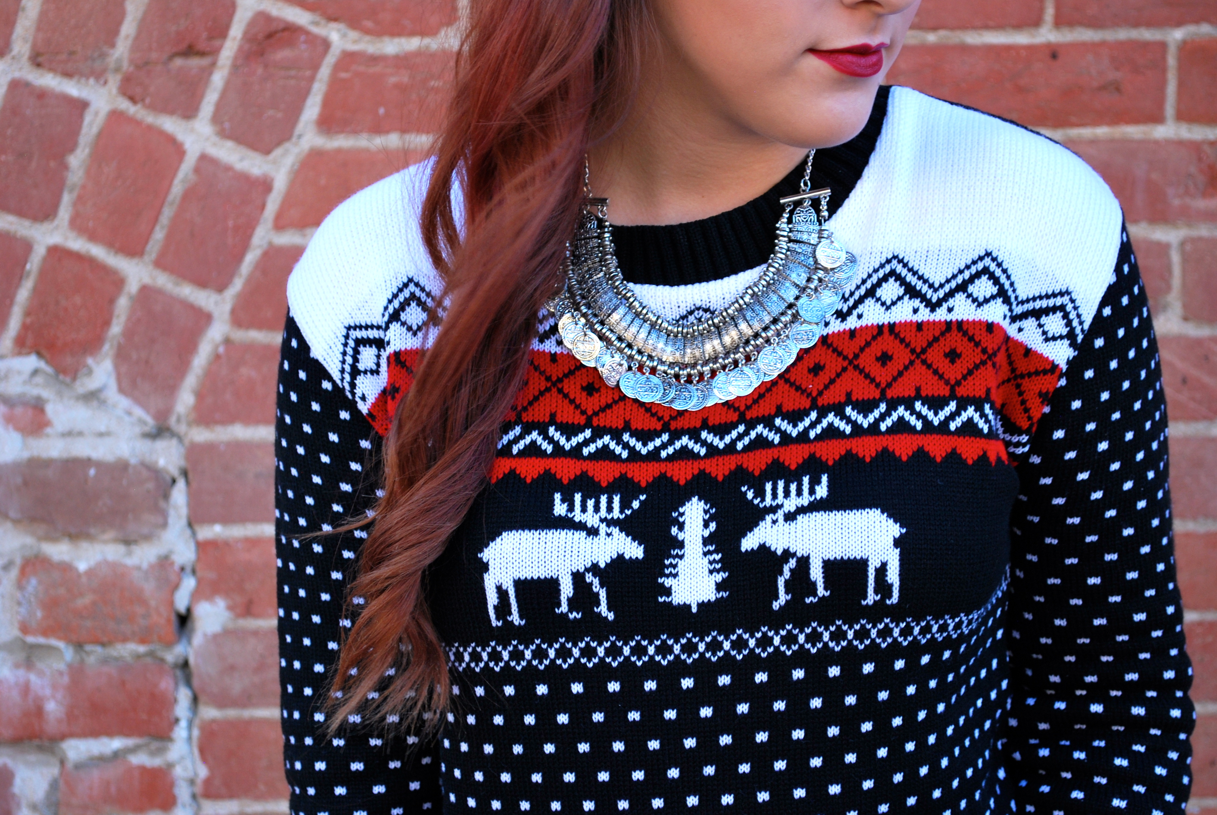 Christmas Sweater Weather Simply Audree Kate