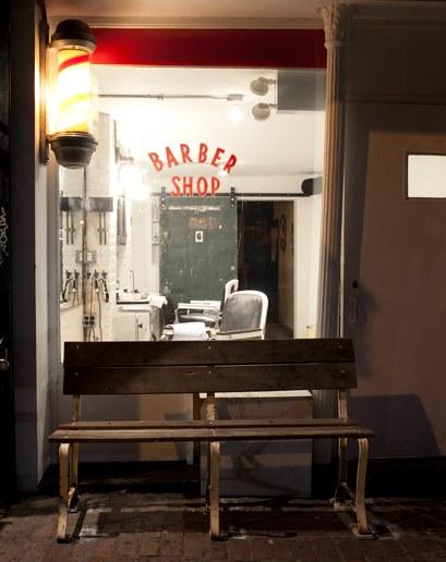 Blind Barber - c/o GQ